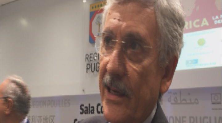 """FDL Bari D'Alema Immigrazione : """"Non abbiamo risolto nulla"""""""