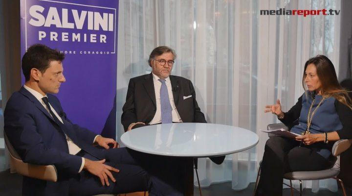 """Speciale Mediareport, il senatore Volpi (Lega – Noi con Salvini) a Bari: """"La Puglia merita di più"""""""