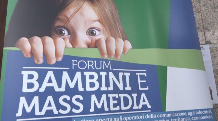 Bambini e mass media, un Forum per comunicare con coscienza