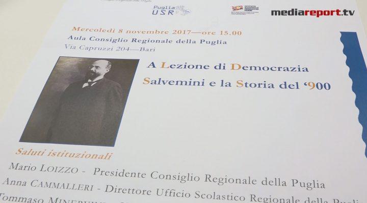 La Puglia ricorda Gaetano Salvemini a 60 anni dalla sua morte.