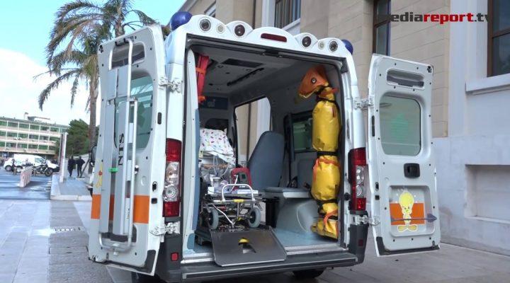 Si chiama STEN il sistema di trasporto in emergenza del neonato attivato in Puglia