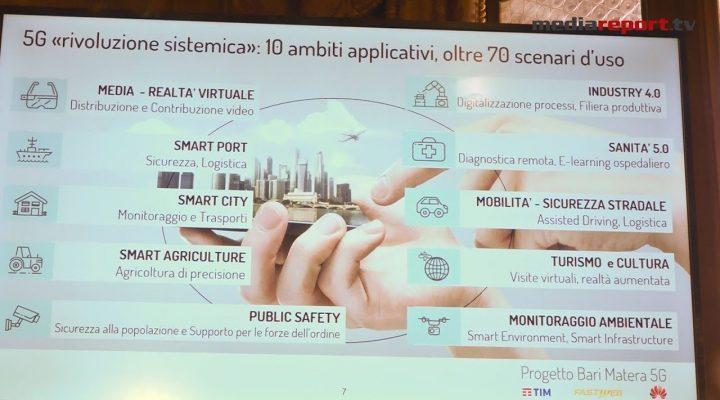 Bari e Matera: E' rivoluzione digitale. Arriva 5G la connessione ultra veloce e intelligente.