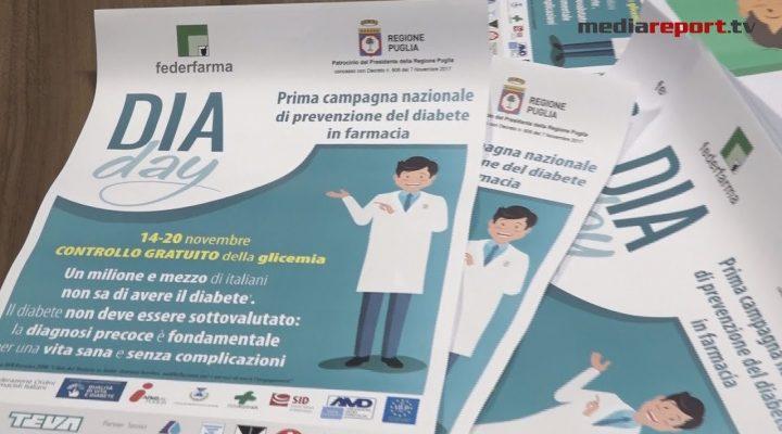 Dia Day, controllo gratuito della glicemia per la prevenzione del diabete in farmacia