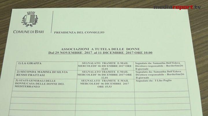 Bari, Casa delle Donne del Mediterraneo: duemila euro donati dai consiglieri Di Rella e Caradonna