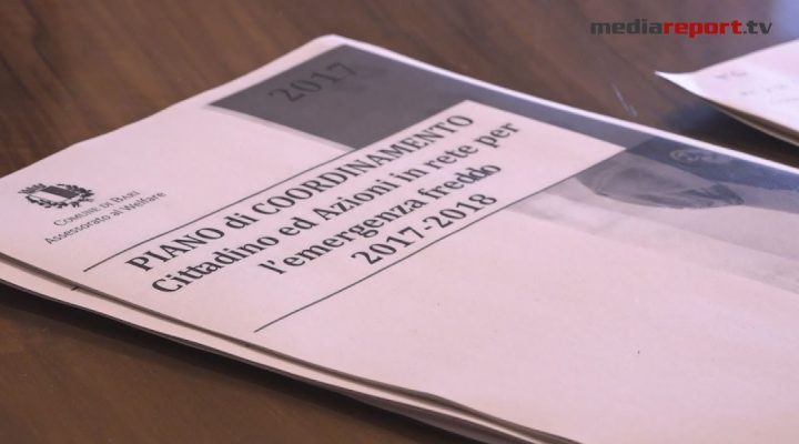 Welfare, presentato il piano operativo del Comune di Bari per l'emergenza freddo