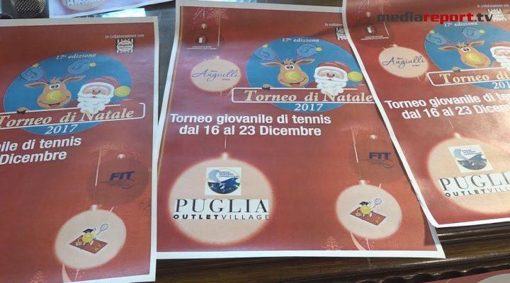 """Bari, 17^ edizione del torneo di Natale. Barazzutti: """"Puglia regina del Tennis"""""""