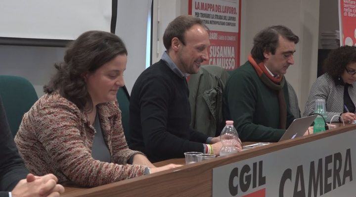 Cgil Bari, conferenza stampa di fine anno : presentata la ricerca sul welfare nella città di Bari