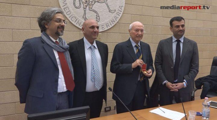 A Piero Angela il Sigillo d'oro dell'Università di Bari Aldo Moro
