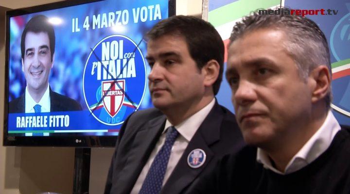 """Fitto (Noi con l'Italia – Udc) : """"Saremo determinanti per vincere questa campagna elettorale"""""""