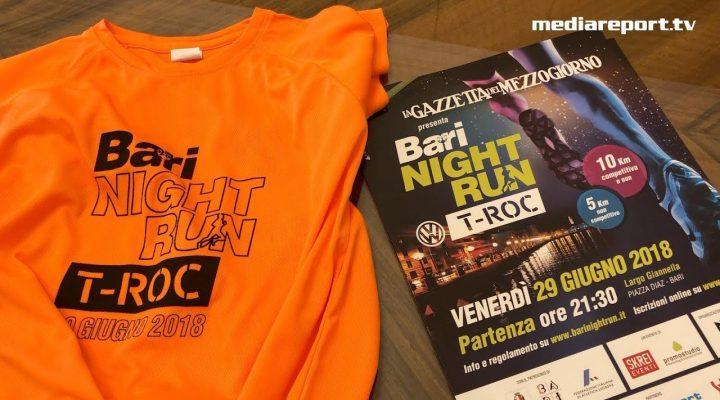 """""""Bari Night Run"""", tutti di corsa sotto le stelle"""