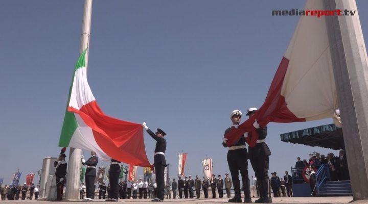 Bari, la solenne cerimonia sul Lungomare per la festa della Repubblica
