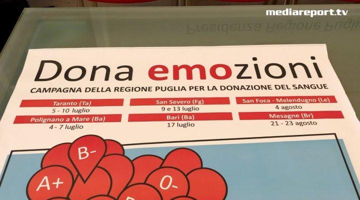 Sangue: la Puglia dona, ma d'estate…
