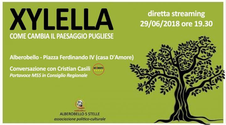 DIRETTA :XYLELLA, come cambia il paesaggio pugliese – conversazione con Cristian Casili