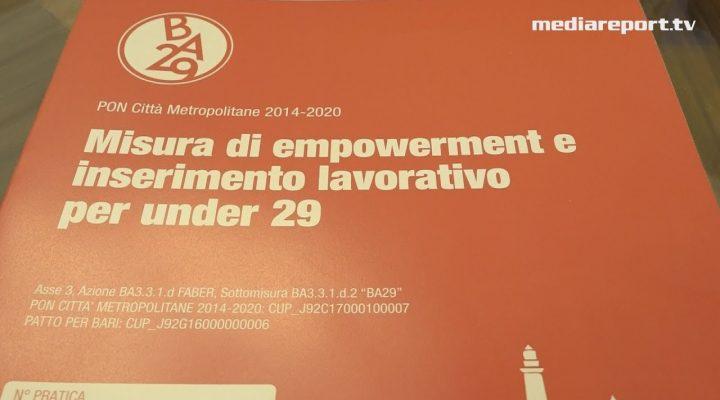 Comune, BA29: il bando per l'inserimento lavorativo di giovani disoccupati