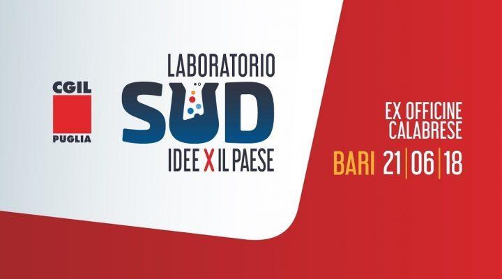 """DIRETTA: """"Laboratorio Sud – idee per il Paese"""" organizzato da CGIL Puglia"""