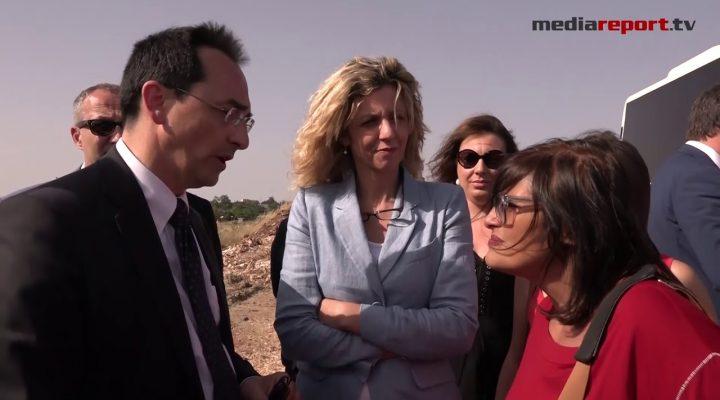 Statale 96: i lavori procedono, il ministro Lezzi visita i cantieri