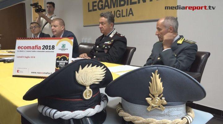 Puglia, Legambiente : presentato il rapporto Ecomafia 2018