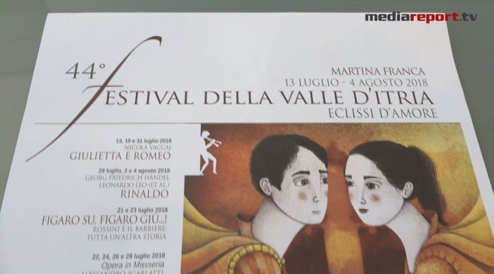 """La 44ma Edizione del Festival della Valle D'Itria sarà : """"eclissi d'amore"""""""