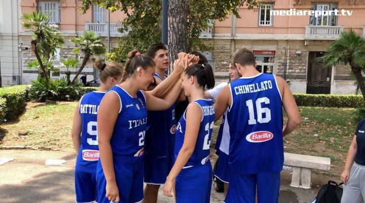 Basket 3×3 a Bari: esordio ok per l'Italia