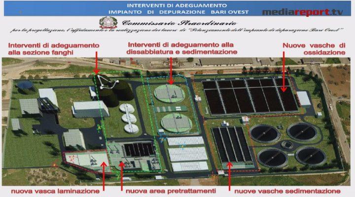 Aqp: procedono i lavori per il nuovo depuratore di Bari Ovest, sarà pronto in 12 mesi