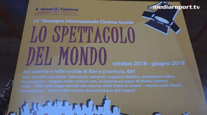 """Arriva """"Lo spettacolo del Mondo"""" le scuole di Bari e Bat vanno al cinema con """"Il Nuovo Fantarca"""""""