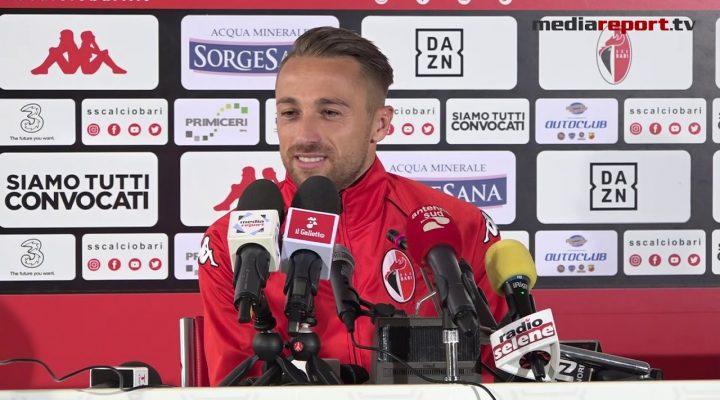 """Roberto Floriano: """"Prima di scegliere Bari ci ho pensato un po', poi mi son convinto"""""""