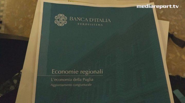 Banca d'Italia, l'economia pugliese cresce a ritmo contenuto