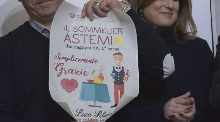 """Ais Bari, progetto """"Sommelier astemio"""" : la competenza va oltre disabilità – mediareport.tv"""
