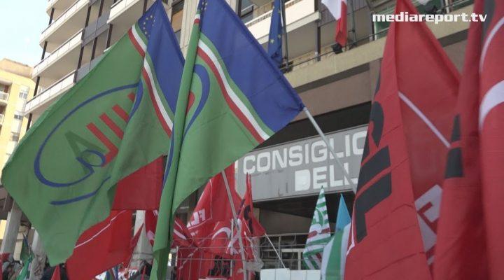 """Arif, lavoratori in sciopero, Gagliardi (Flai Cgil ): """"la Regione continua a non dare risposte"""" mediareport.tv"""