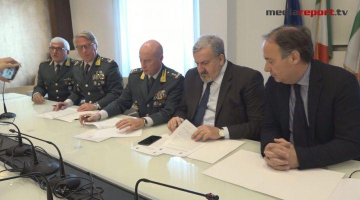 Regione Puglia, firmato accordo biennale con la GDF per attività di formazione degli agenti