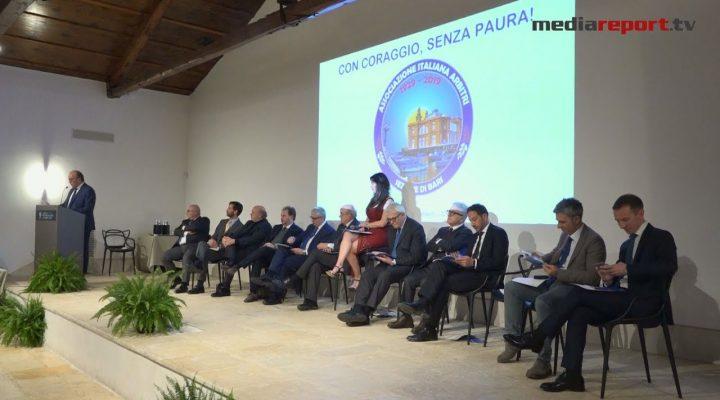 """La sezione arbitrale di Bari festeggia 90 anni. Favia: """"Spazio ai giovani"""""""