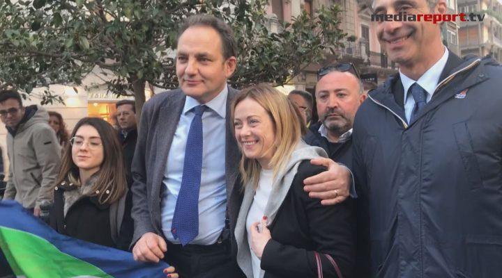 Primarie cdx, Giorgia Meloni a Bari per sostenere il candidato sindaco Filippo Melchiorre