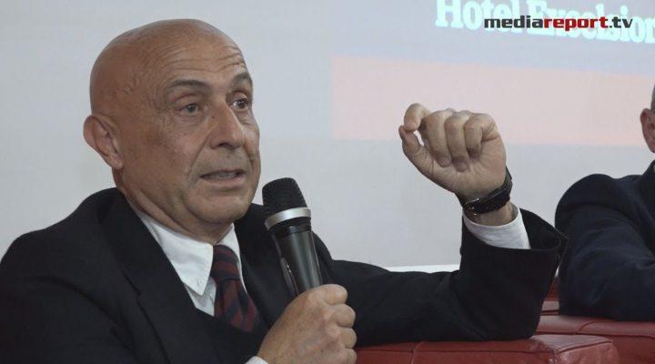 "Bari, Marco Minniti presenta la sua opera prima:""Sicurezza è libertà"""