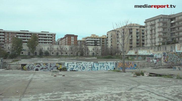 Bari ex caserma Rossani, al via i lavori: 300 giorni per realizzare il parco più grande della città.