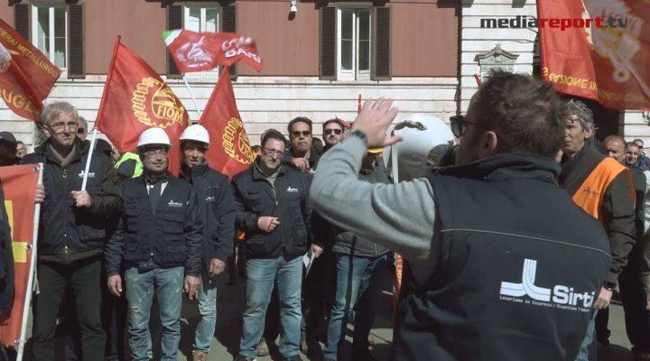 """Sirti (tlc) annuncia 833 esuberi, lavoratori in sciopero: è la """"Settimana della lotta"""""""