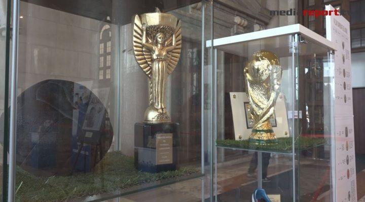 """A Bari """"Un secolo d'azzurro"""" la mostra dei 100 anni di storia della nazionale di calcio Italiana"""