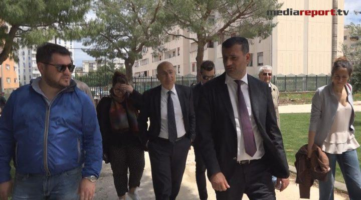 Bari, il primo giorno del sindaco Decaro: sopralluogo nel Parco pineta di San Luca a Japigia