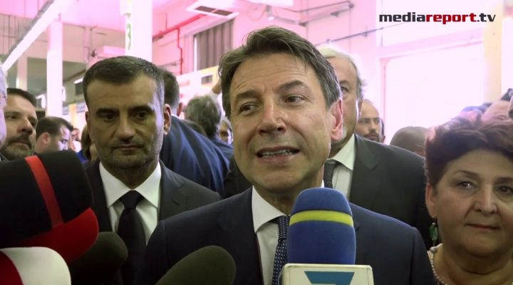 """Fdl, Conte :""""Lavoreremo intensamente per far ripartire il Sud e l'Italia intera"""""""
