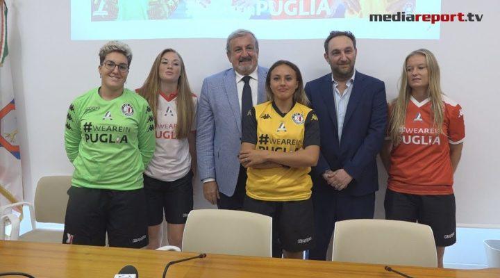 Calcio femminile, #PinkBari: presentate le nuove maglie – www.mediareport.tv