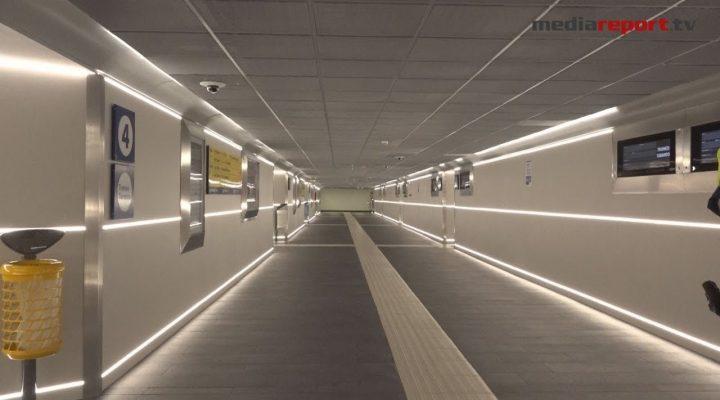 Bari, ecco il nuovo sottopasso della stazione Centrale, moderno, tecnologico e… più europeo