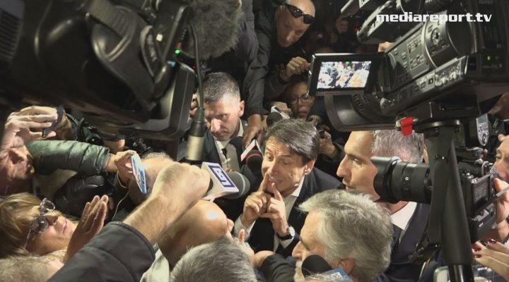 Taranto Ex Ilva: visita a sorpresa del presidente Conte tra applausi e contestazioni