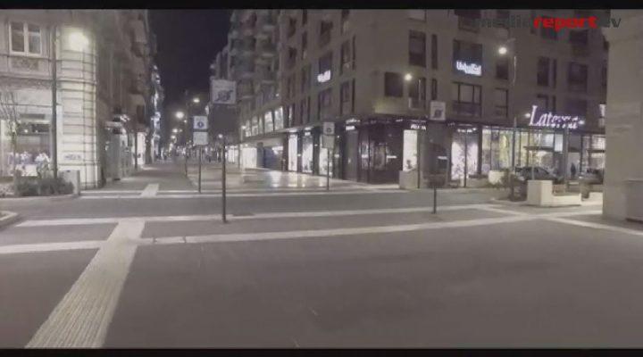 #coronavirus, il video di Bari deserta -mediareport.tv-