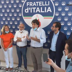 Regionali Puglia , presentati a Bari i primi 4 candidati della lista di Flli d'Italia